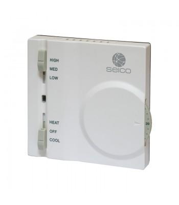 SEICO Digitaler Thermostat Fancoil mit Gebläsekonvektor
