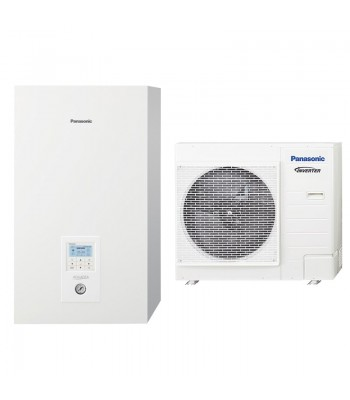 Heating and Cooling Bibloc Panasonic Aquarea Bibloc KIT-WC09JE5