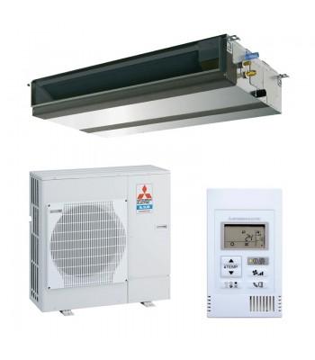 Kanalgeräte Mitsubishi Electric PEAD-M100JA + PUZ-M100VKA