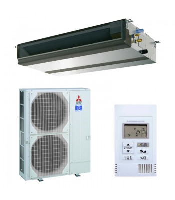 Kanalgeräte Mitsubishi Electric PEAD-M140JA + PUZ-M140VKA
