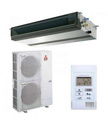 Kanalgeräte Mitsubishi Electric PEAD-M100JA + PUZ-ZM100YKA