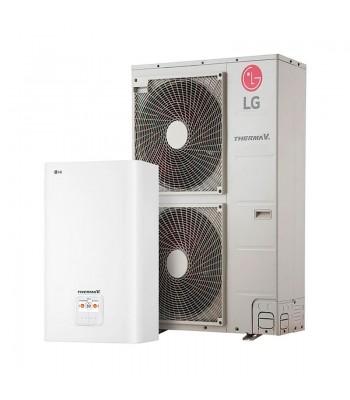 Heating and Cooling Bibloc LG Therma V Split Mural R-410A HN1616M.NK5 + HU121MA.U33