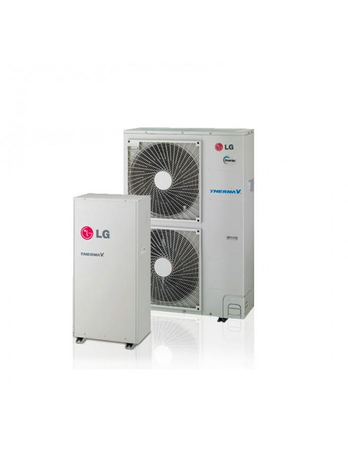 Heat Only Bibloc LG Therma V Split de Alta Temperatura HN1610H.NK3 + HU161HA.U33