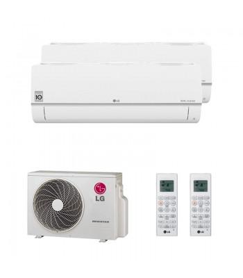 Aire Acondicionado Multi Split LG PC09SQ.NSJ + PC12SQ.NSJ + MU3R19.U21