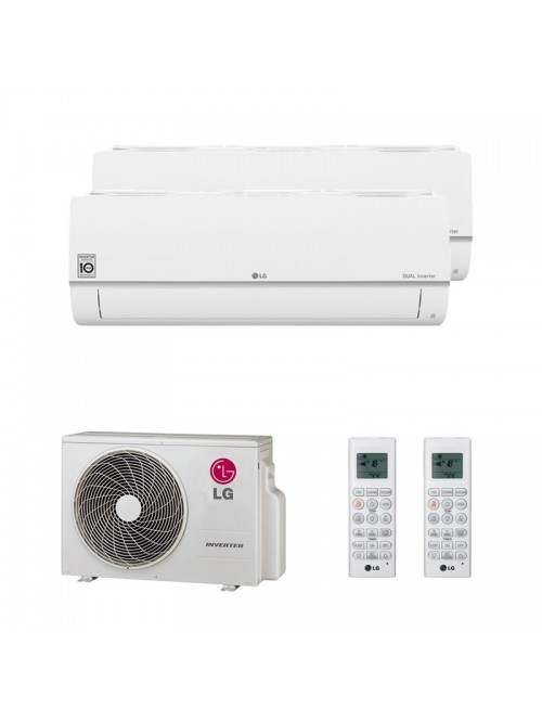 Air Conditioning Multi Split LG R32 MU3R19 + PC09SQ + PC12SQ