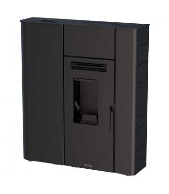Boreale slanke pellets 12 kW zwart