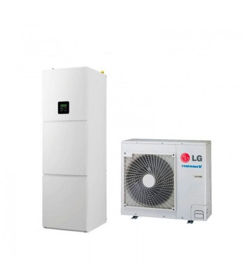 Heating and Cooling Bibloc LG Therma V Split HU091.U43+HN1616T.NB0