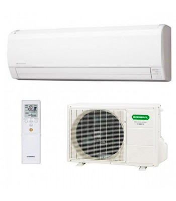 Nordic Wall Split Air Conditioning General ASHG12LMCB + AOHG12LMCBN