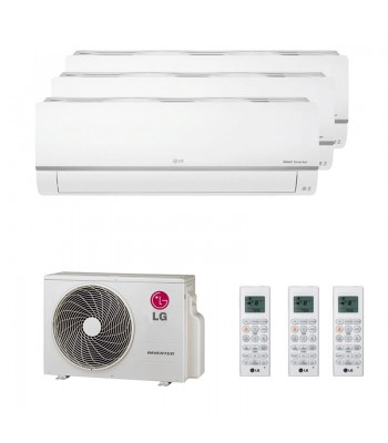 Multi Split Air Conditioner LG 3 x PC09SQ + MU3R21