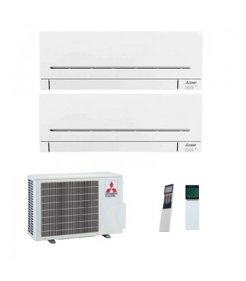 Air Conditionné Multi Split Mitsubishi Electric MXZ-2F42VF + MSZ-AP25VGK + MSZ-AP35VGK
