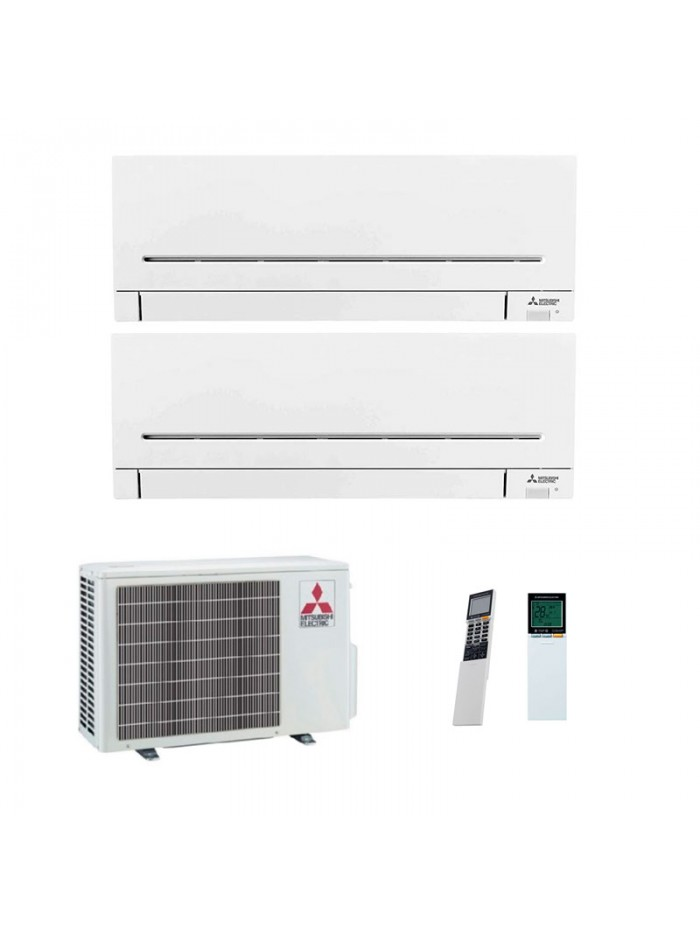 Air Conditioning Multi Split Mitsubishi Electric MXZ-2F42VF + MSZ-AP25VGK + MSZ-AP35VGK