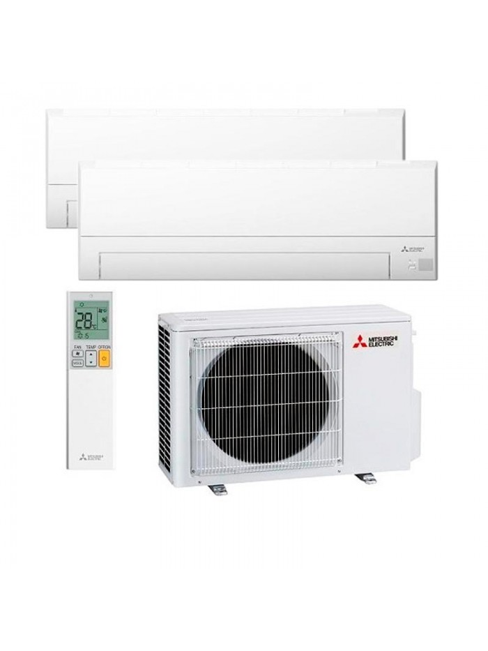 Multi Split Air Conditioner Mitsubishi Electric 2 x MSZ-BT35VGK + MXZ-2F53VF