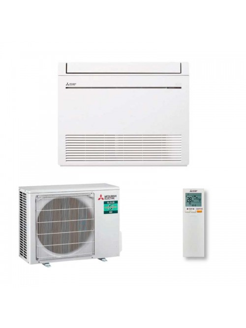 Floor Standing Air Conditioner Mitsubishi Electric MFZ-KT25VG + SUZ-M25VA