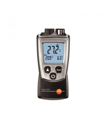 Termómetro infrarrojo/ambiente con puntero láser Testo 810
