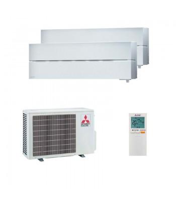 Aire Acondicionado Multi Split Mitsubishi Electric MSZ-LN25VGW + MSZ-LN35VGW + MXZ-2F53VF