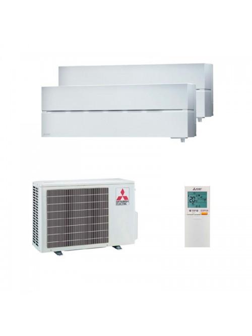Multi Split Air Conditioner Mitsubishi Electric MSZ-LN25VGW + MSZ-LN35VGW + MXZ-2F53VF