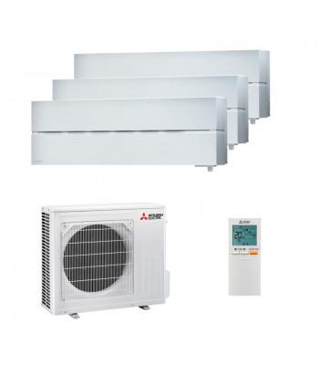 Aire Acondicionado Multi Split Mitsubishi Electric 3 x MSZ-LN18VGW + MXZ-3F54VF