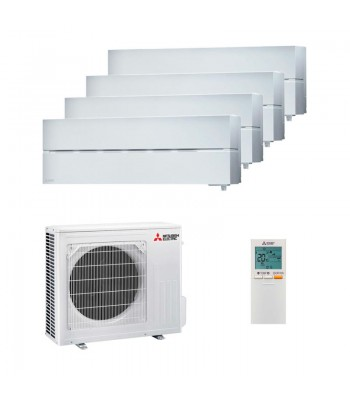 Aire Acondicionado Multi Split Mitsubishi Electric 4 x MSZ-LN18VGW + MXZ-4F72VF