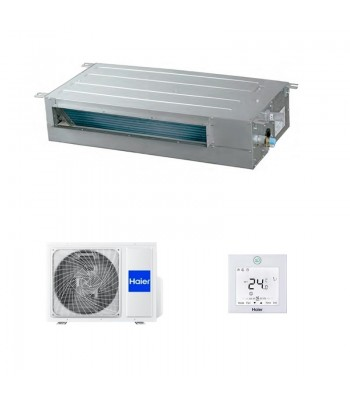 Climatiseur Gainable Haier AD50S2SS1FA + 1U50S2SM1FA