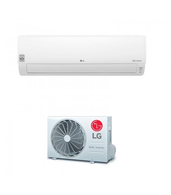 Wall Split Air Conditioner LG DELUXE CONNECT DC09RT.NSJ + DC09RT.UA3