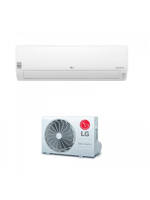 Wall Split Air Conditioner LG DELUXE CONNECT DC12RT.NSJ + DC12RT.UA3