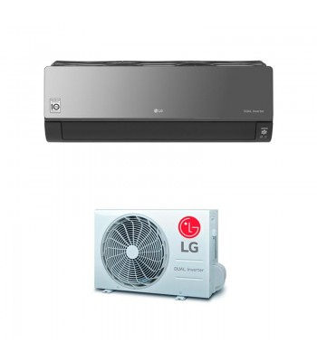 Wall Split Air Conditioner LG ARTCOOL MIRROR AC24BQ.NSK + AC24BQ.UL2