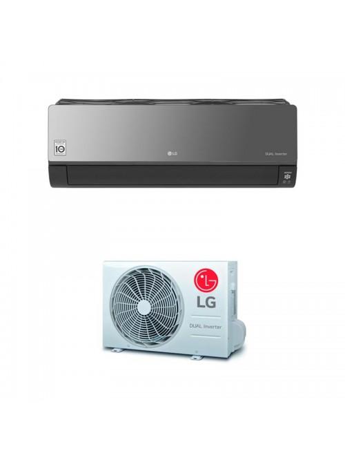 Wall Split Air Conditioner LG ARTCOOL MIRROR AC24BQ.NSK + AC24BQ.U24