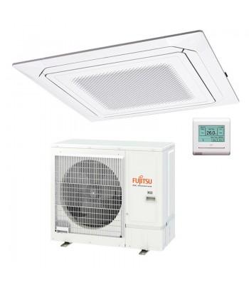 Cassette Air Conditioner Fujitsu Inverter White AUXG36KRLB + AOYG36KATA