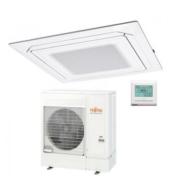 Cassette Air Conditioner Fujitsu Inverter White AUXG54KRLB + AOYG54KATA