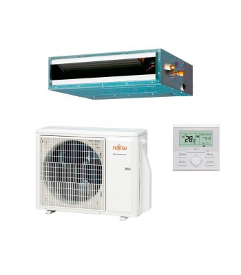 Ducted Air Conditioner Fujitsu Slim ARXG18KLLAP + AOYG18KBTB