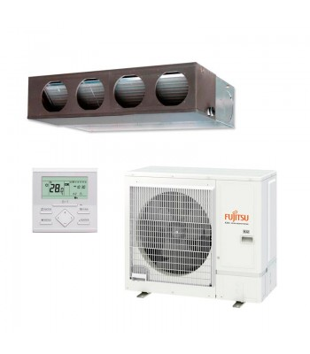Ducted Air Conditioner Fujitsu Split Inverter ARXG30KMLA + AOYG30KBTB