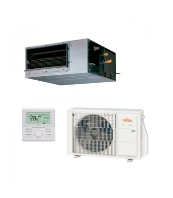 Ducted Air Conditioner Fujitsu Split Inverter ARXG14KHTAP + AOYG14KBTB