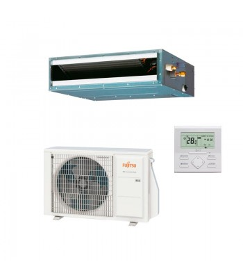 Ducted Air Conditioner Fujitsu Slim ARXG14KLLAP + AOYG14KATA