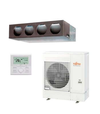 Aire Acondicionado Conductos Fujitsu Split Inverter ARXG45KMLA + AOYG45KATA