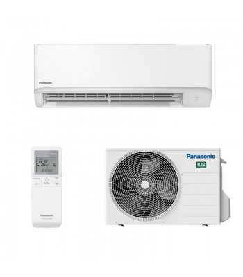 Wall Split Air Conditioner Panasonic CS-TZ25WKEW + CU-TZ25WKE