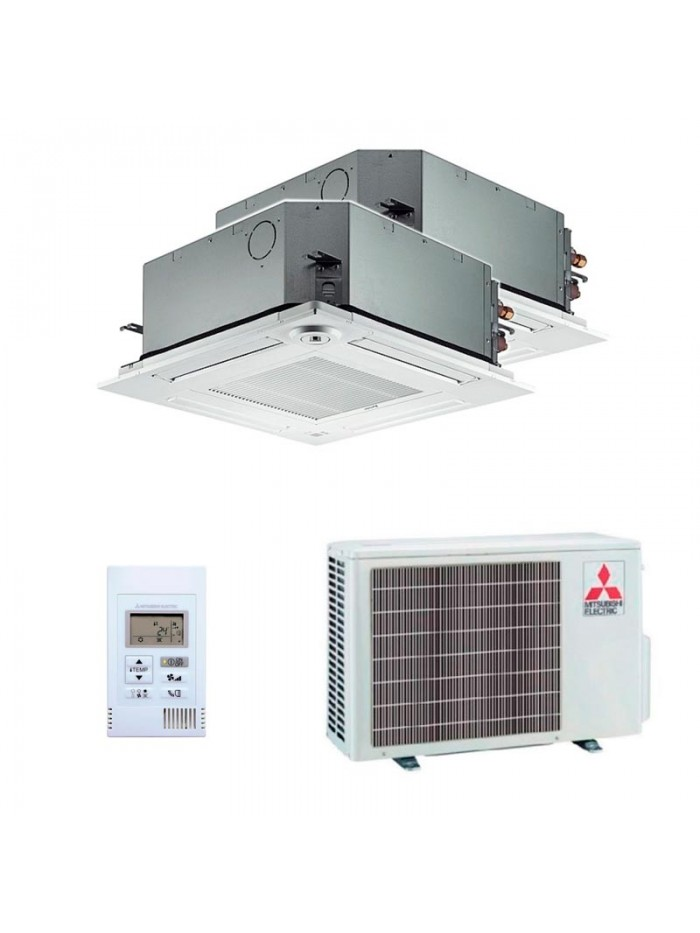 Air Conditioning Multi Split Mitsubishi Electric SLZ-M25FA + SLZ-M25FA + MXZ-2F53VF