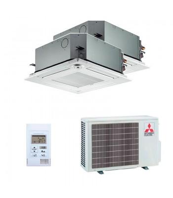 Air Conditioning Multi Split Mitsubishi Electric SLZ-M25FA + SLZ-M35FA + MXZ-2F53VF