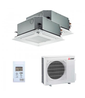 Air Conditioning Multi Split Mitsubishi Electric SLZ-M35FA + SLZ-M35FA + MXZ-3F68VF