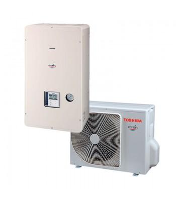 Warmte en kouden Bibloc Toshiba  Estia Mini