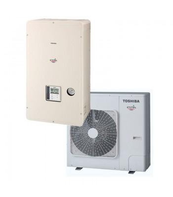 Warmte en kouden Bibloc Toshiba  Estia Alfa
