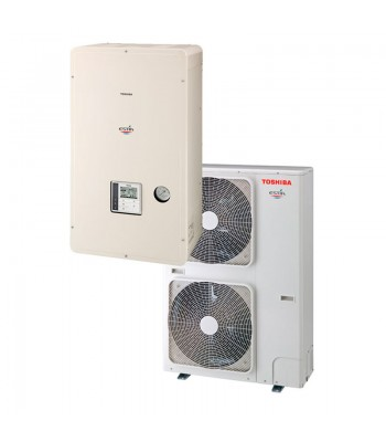 Air-to-Water Heat Pumps Toshiba Estia Omega HWS-P1105XWHM3-E + HWS-P1105HR-E