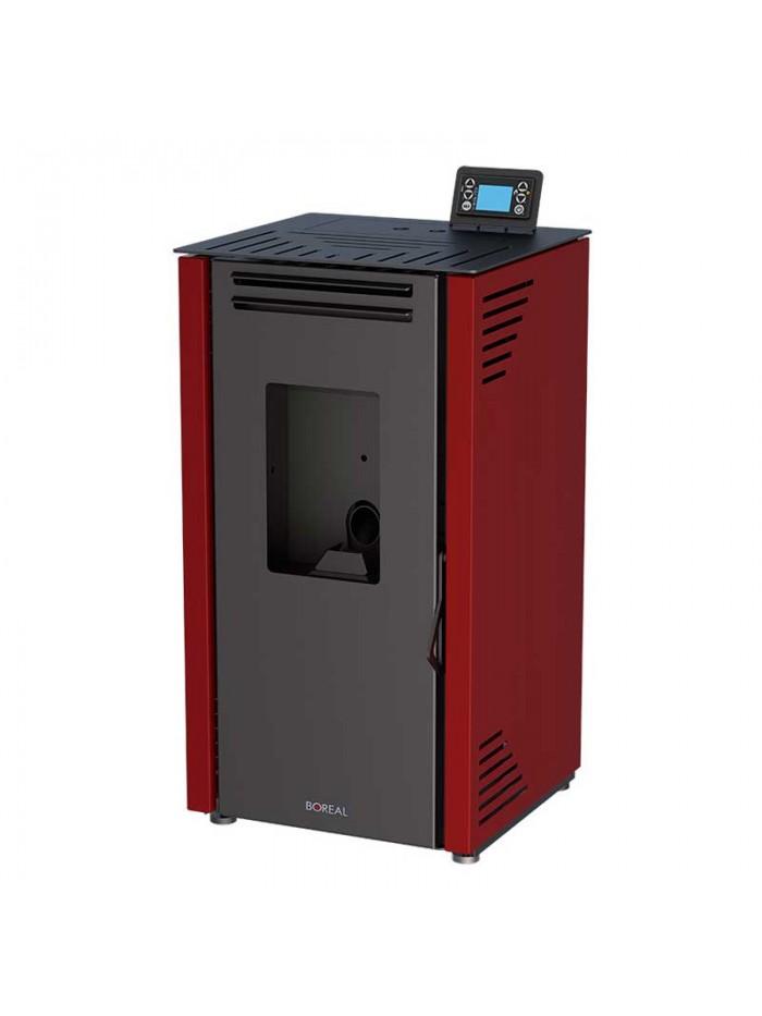 Boreal Pellets 6 kW Bordeaux Red