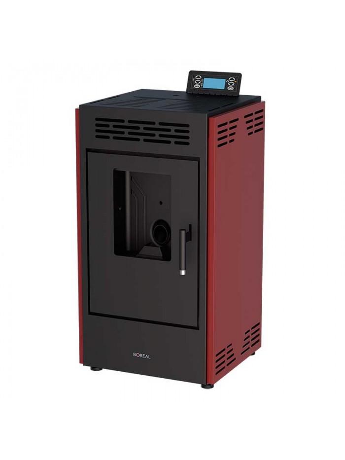 Boreal Pellets 9 kW Bordeaux Red