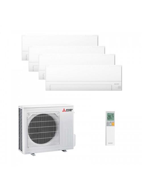 Multi Split Air Conditioner Mitsubishi Electric 4 x MSZ-BT25VGK + MXZ-4F80VF