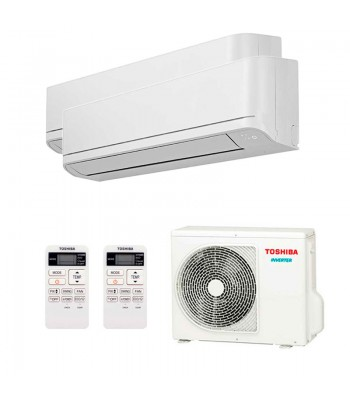 Multi Split Air Conditioner Toshiba RAS-B10J2KVG-E + RAS-B13J2KVG-E + RAS-2M18U2AVG-E