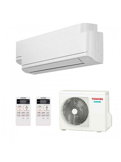 Multi Split Air Conditioner Toshiba RAS-B10J2KVG-E + RAS-B13J2KVG-E + RAS-2M18U2AVG-E