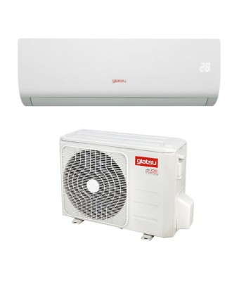 Wall Split AC Air Conditioner Giatsu GIA-S09AR2B-R32-I + GIA-S09AR2B-R32-O