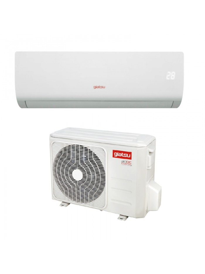 Wall Split AC Air Conditioner Giatsu GIA-S09AR2B-R32-I + GIA-S09AR2B-R32-O