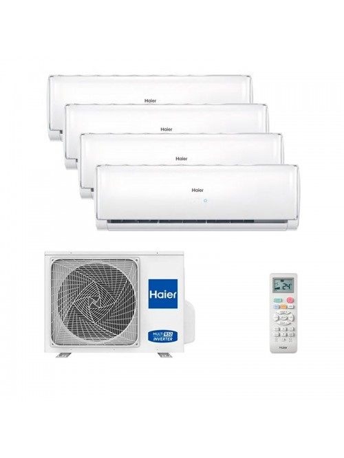 Multi Split Air Conditioner Haier 4 x AS25TADHRA-THC + 5U105S2SS3FA