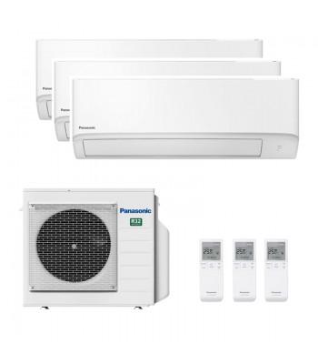 Multi Split Air Conditioner Panasonic 2 x CS-TZ25WKEW + CS-TZ35WKEW + CU-3Z68TBE
